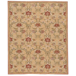 """21st Century Contemporary Needlepoint Rug, 7'10"""" X 9'6"""" For Sale"""