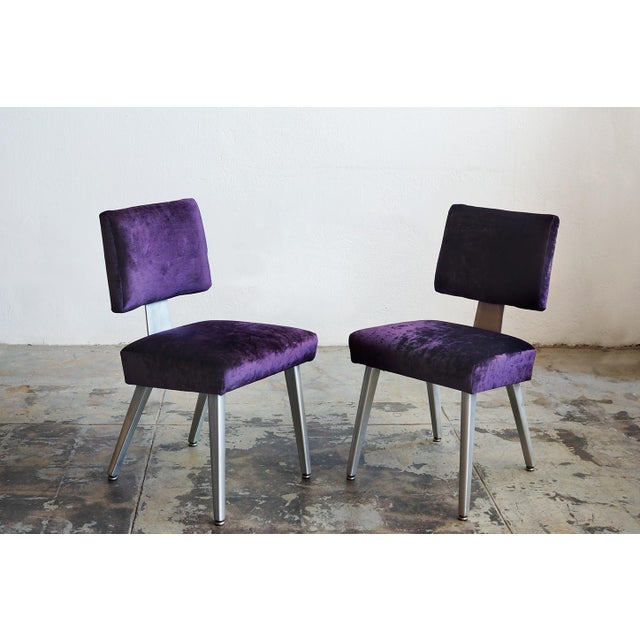 General Fireproofing Co. Purple Chairs - A Pair - Image 4 of 6