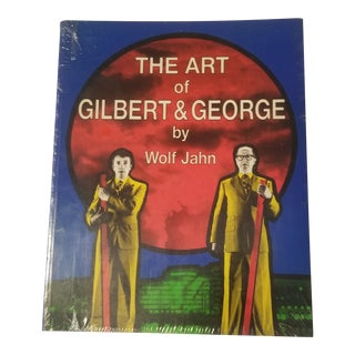 """Pristine """"The Art of Gilbert and George"""" Book by Wolf Zjahn For Sale"""