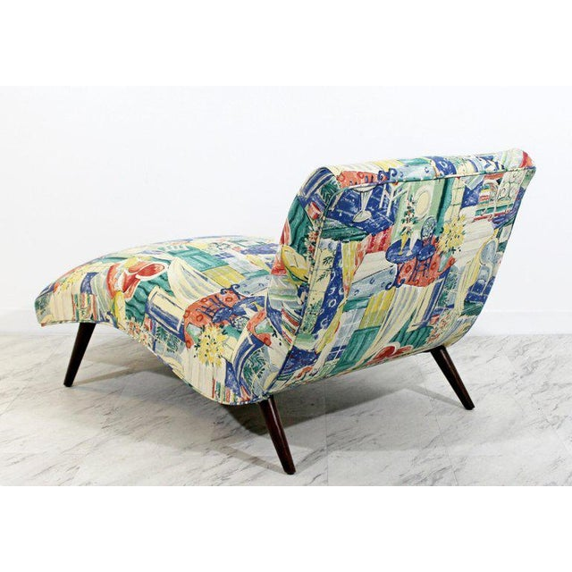 Mid 20th Century Mid-Century Modern Contour Wave Chaise Lounge Chair by Adrian Pearsall, 1950s For Sale - Image 5 of 10