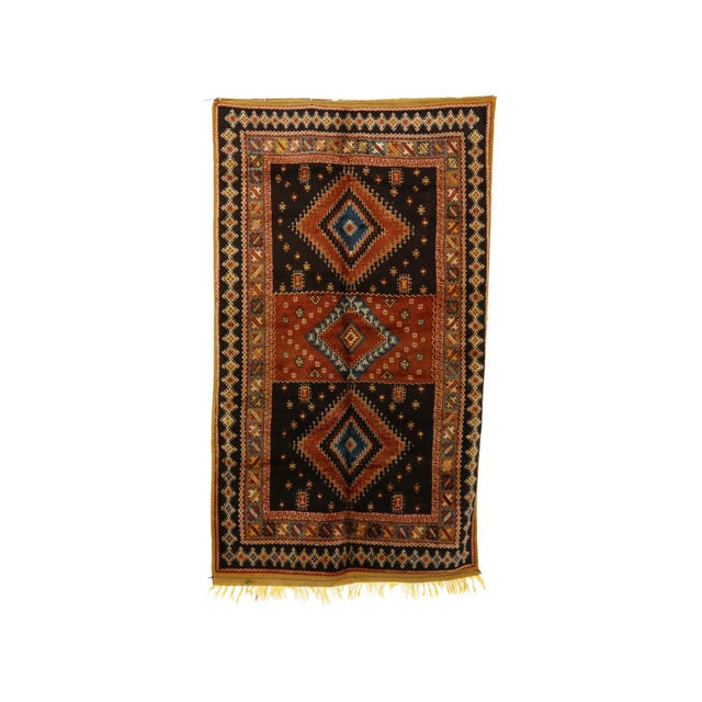 """Taznakht Moroccan Rug, 5'1"""" X 8'9"""" Feet For Sale - Image 6 of 6"""