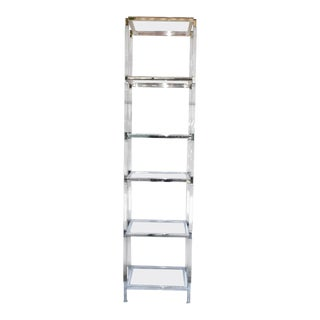 Charles Hollis Jones Metric II Etagere Signed For Sale
