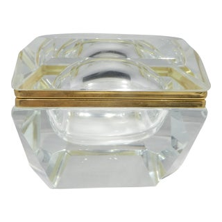 20th Century Italian Murano Mandruzzato Style Casket Box For Sale
