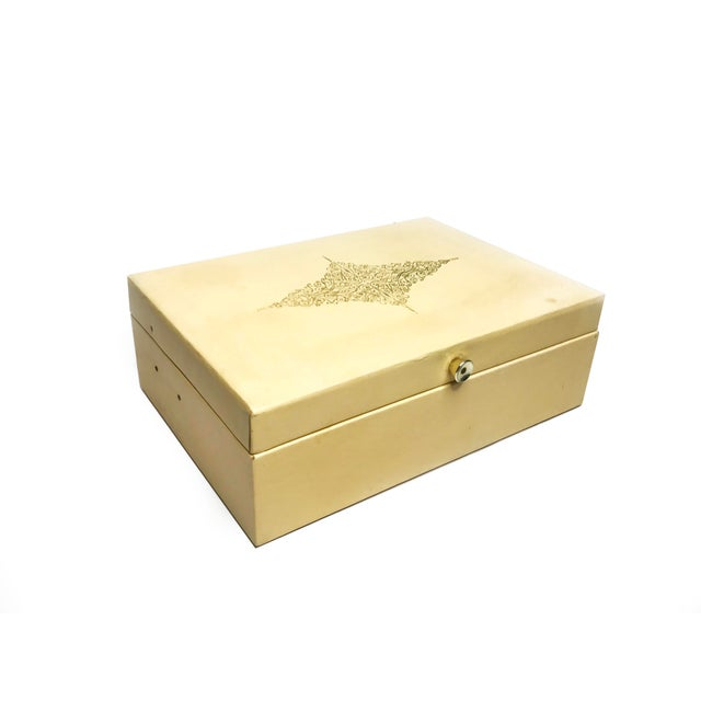 1960s Vintage Mid Century Lady Buxton Jewelry Box For Sale - Image 5 of 5