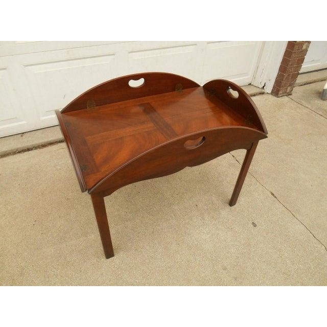 Vintage Baker Furniture Butler / Tray Table - Image 5 of 8 - Vintage Baker  Furniture - Antique Baker Furniture Antique Furniture