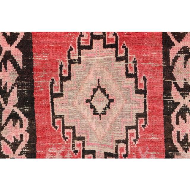 "Boujad Vintage Moroccan Rug - 3'4"" x 9'8"" - Image 2 of 3"