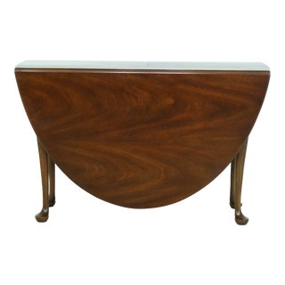 Kittinger Large Mahogany Drop Leaf Gateleg Table For Sale