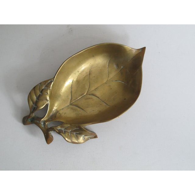 Brass Leaf Dish - Image 2 of 8