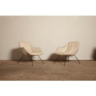 1950s Vintage Forma Brazil Carlo Hauner and Martin Eisler Shell 'Concha' Lounge Chairs - a Pair Preview