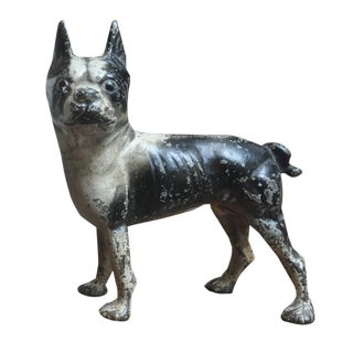 Hubley Boston Terrier Doorstop
