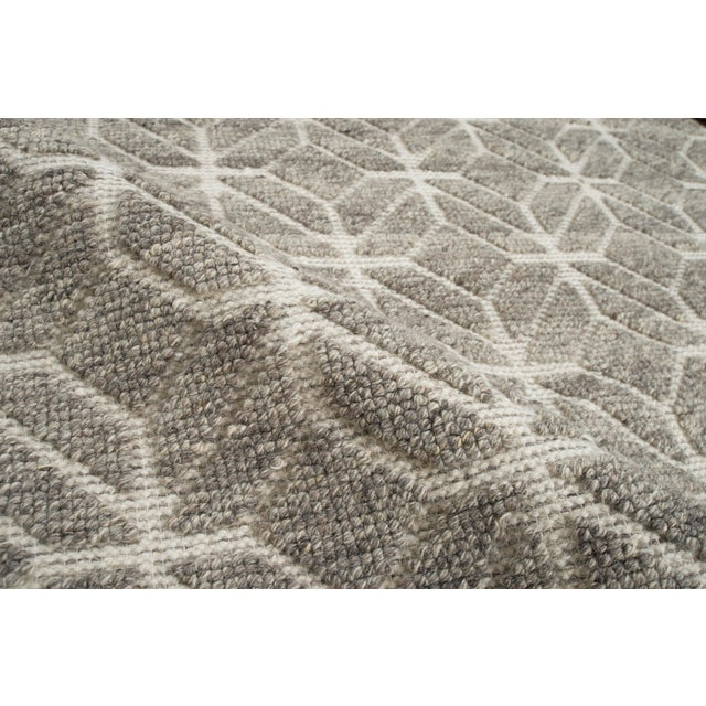 """Contemporary Alston - Stone Area Rug - 10'0"""" x 14'0"""" For Sale - Image 3 of 5"""
