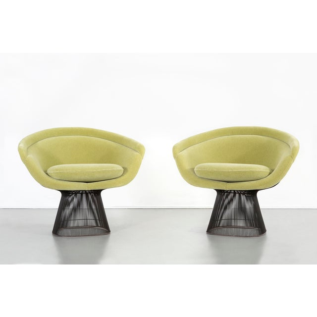 Set of Mid-Century Modern Bronze Platner Lounge Chairs for Knoll For Sale - Image 13 of 13