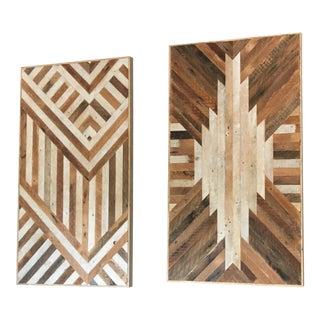 Ariele Alasko Lath Wall Panels - a Pair