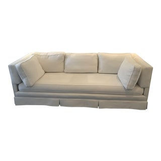 Custom Tuxedo Style Sofa