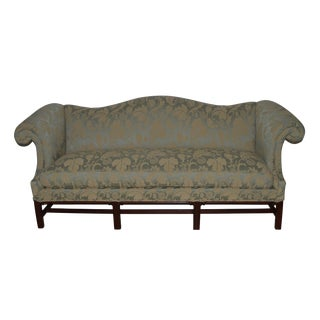 Vintage Hickory Chair Furniture Company Chippendale Style Mahogany Sofa