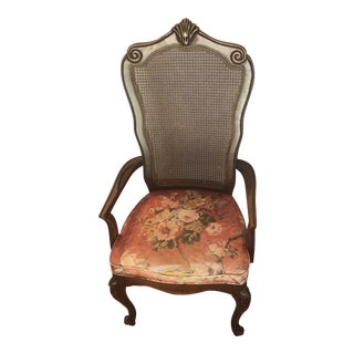 J. B Van Sciver Co Cane Back Chair For Sale