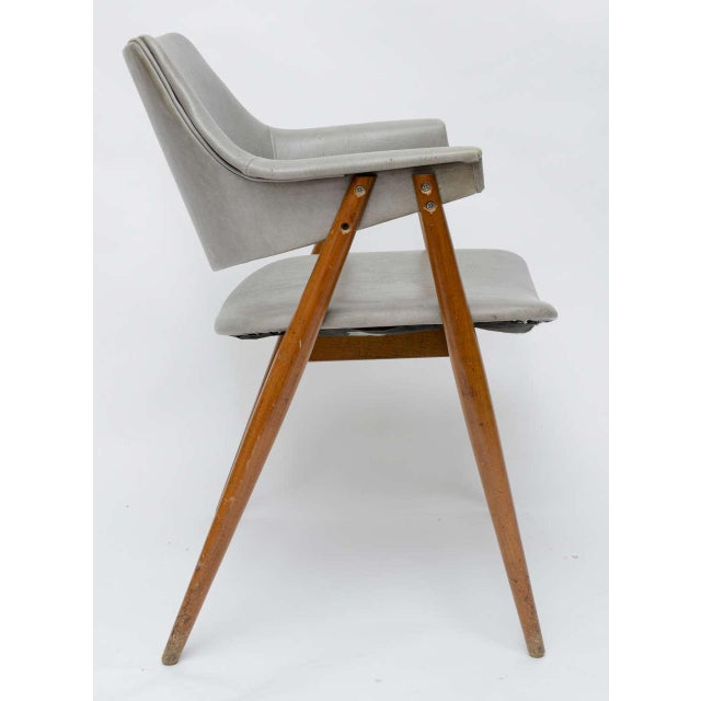 Mid-Century Modern Wooden MCM Chair Attributed to Paul McCobb 1950 For Sale - Image 3 of 10