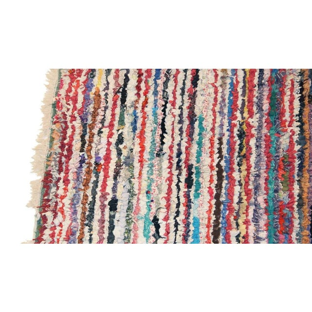 "Vintage Boucherouite Carpet - 7' X 4'1"" - Image 2 of 3"