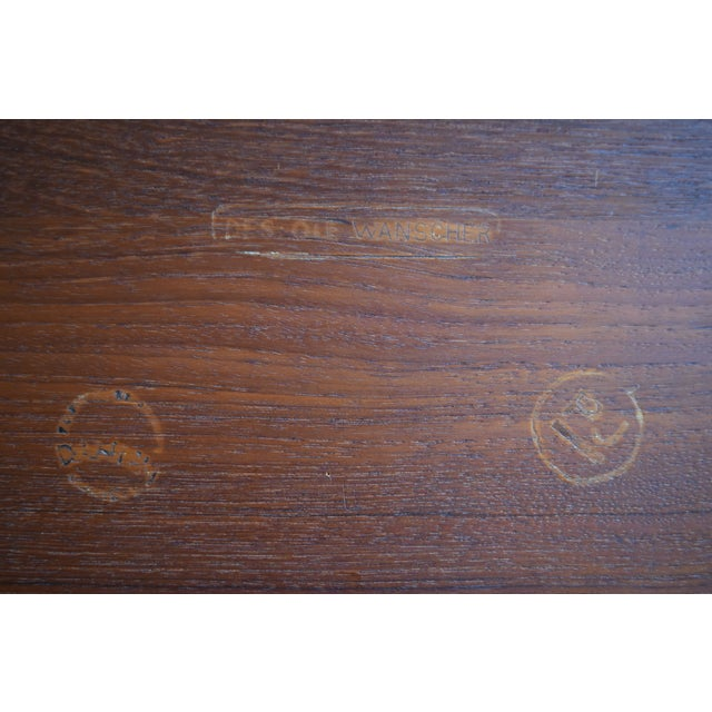 Vintage Danish Modern Teak Coffee Table by Ole Wanscher for Poul Jeppesen - Image 6 of 6