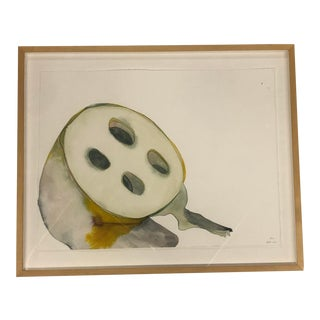 Watercolor of Fruit by Emilie Clark For Sale