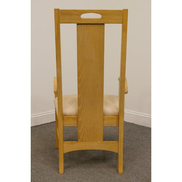 Late 20th Century Vintage Thomasville Furntiure American Revival Collection Dining Arm Chair For Sale In Kansas City - Image 6 of 9