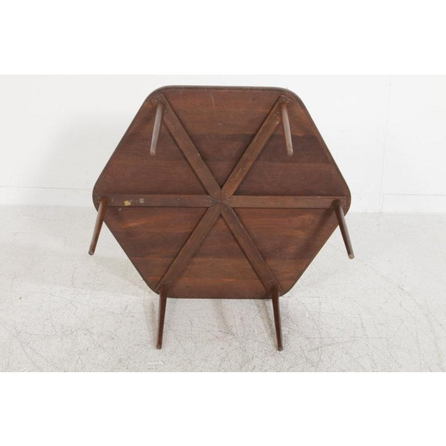 1960s Vintage Mid-Century Danish Modern Rosewood Nesting Coffee Table - 7 Pieces For Sale - Image 5 of 8