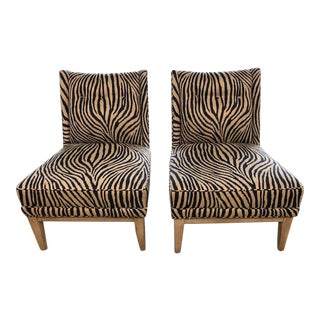 Jonathan Adler Slipper Chairs - A Pair