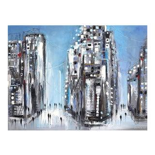 """Midtown"" Original Artwork by Ekaterina Ermilkina For Sale"