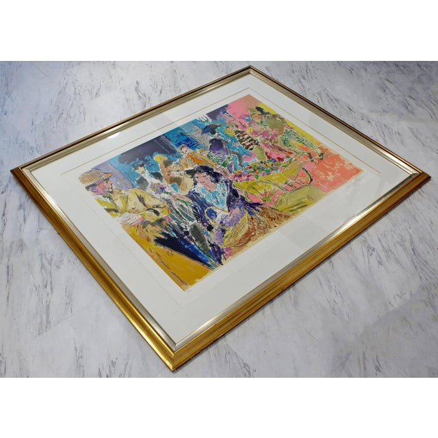 Mid-Century Modern Mid-Century Modern Leroy Neiman Litho Signed Numbered 1/300 My Fair Lady Framed For Sale - Image 3 of 11