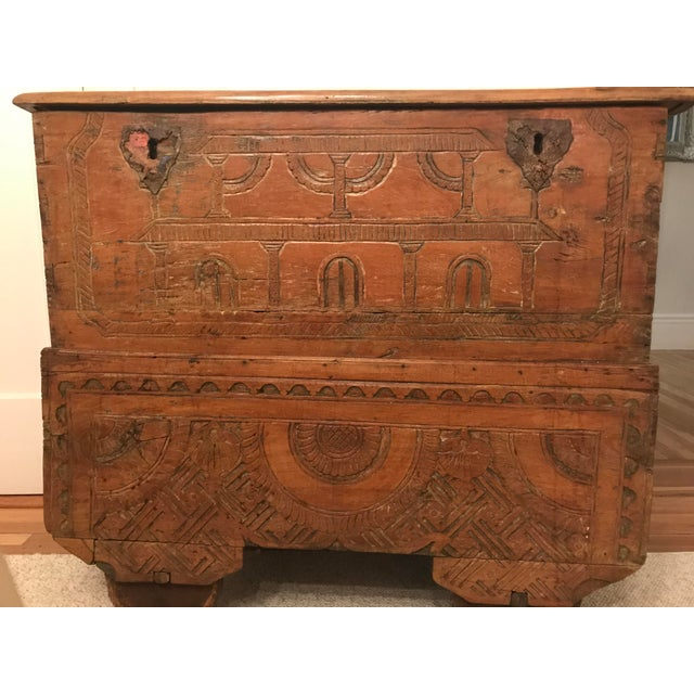 Antique Indonesian Gerobok Chest For Sale - Image 5 of 11