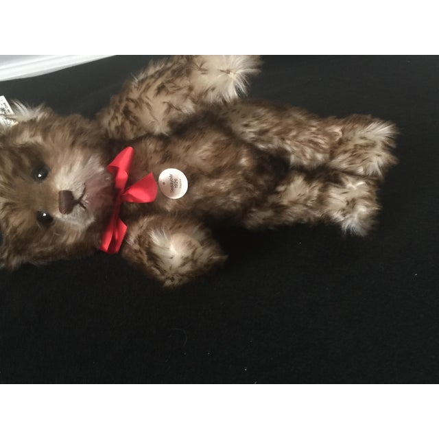 """Traditional Antique Steiff Teddy Bear - Replica, 1926 """"Happy Anniversary"""" Teddy Bear For Sale - Image 3 of 12"""