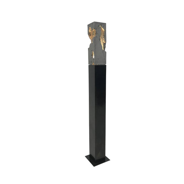 Steel Standing Scarpa Light For Sale In New York - Image 6 of 6