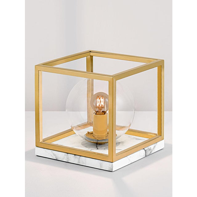 Art deco paris polished brass table lamp on faux marble chairish art deco paris polished brass table lamp on faux marble image 4 of 4 aloadofball Images