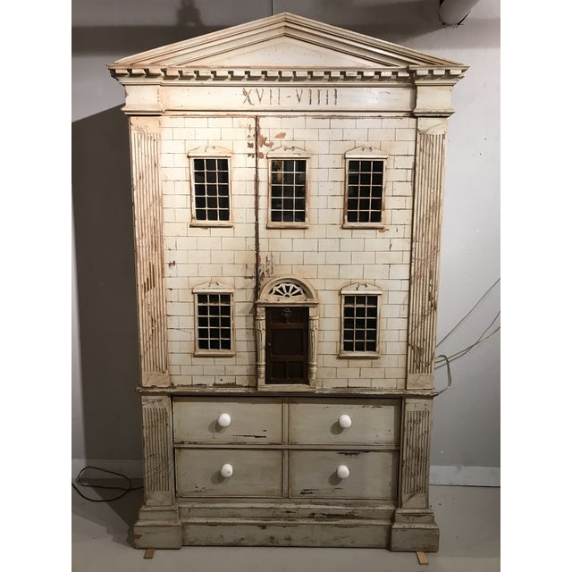 Large Georgian Style Armoire by j.r. Teale and Son For Sale - Image 6 of 6
