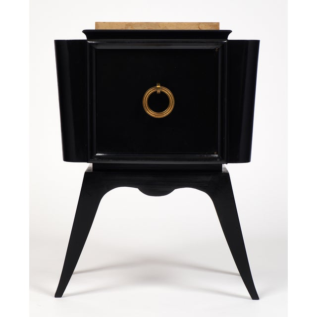André Arbus-Style Art Deco Nightstands - A Pair - Image 3 of 10