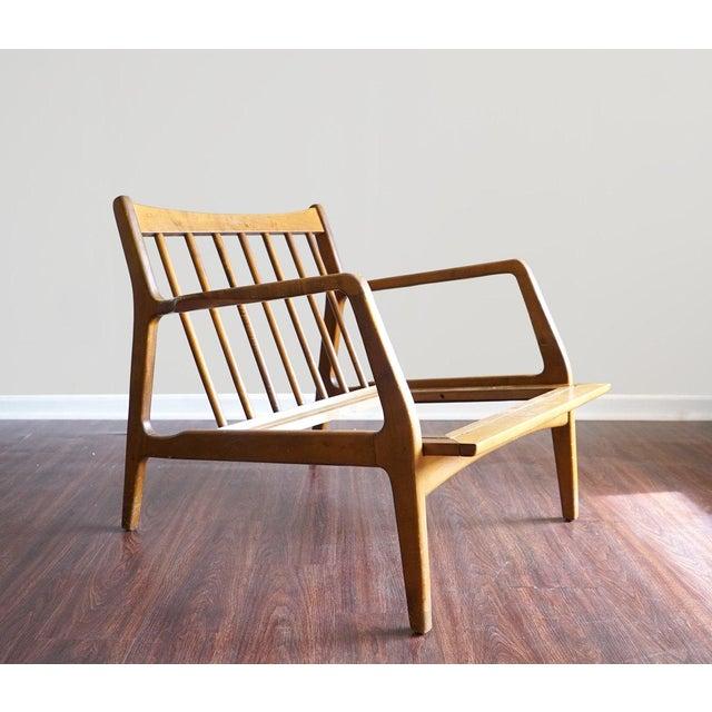 Ib Kofod Larsen Style Mid-Century Danish Modern Lounge Chair - Image 5 of 6