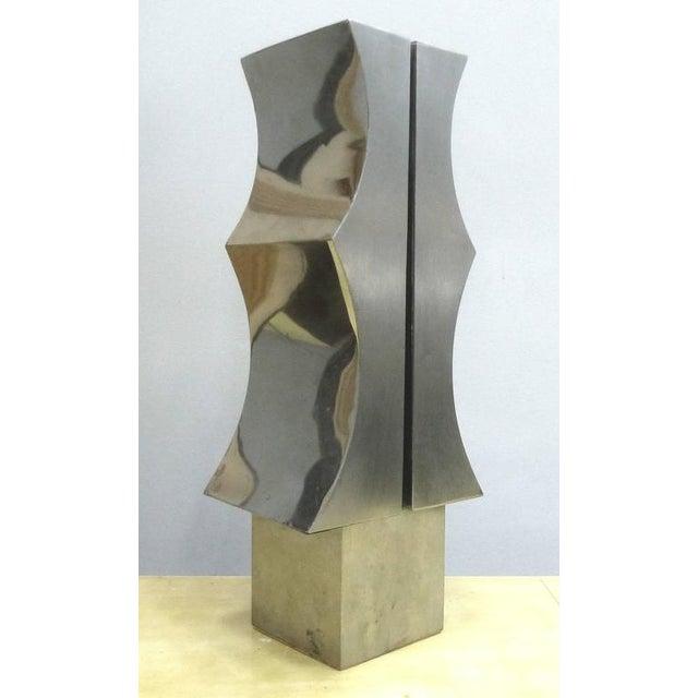 Modernist Aluminum Sculpture by Yutaka Toyota 'Japan/Brazil circa 1970' - Image 4 of 10