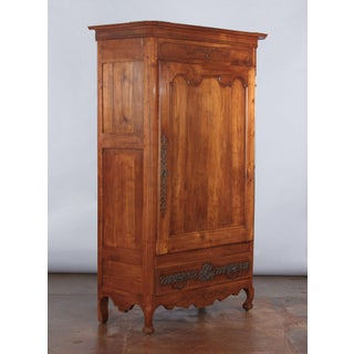 Late 18th Century French Louis XV Cherrywood Bonnetiere Armoire Preview