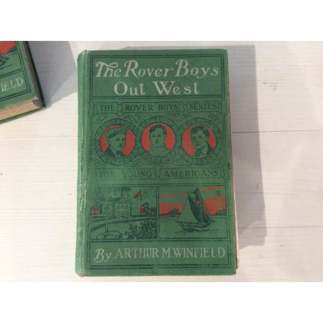 Early 1900s Books: The Rover Boys' Series for Young Americans - Set of 3 - Image 6 of 10