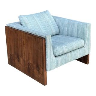 Milo Baughman for Thayer Coggin Rosewood Case Club Chair