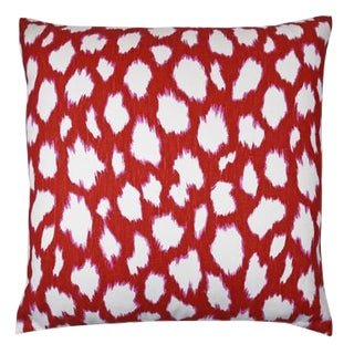 """Claire Pillow, Cherry, 22""""x22"""" For Sale"""