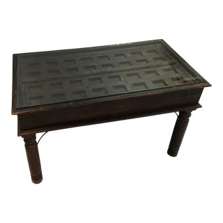 Moroccan Door Console Table For Sale