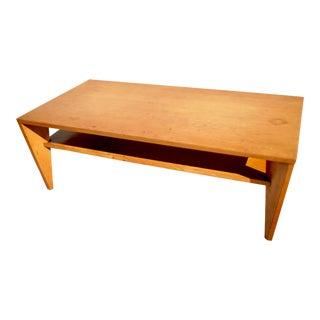 American Mid Century Minimalist Russel Wright Conant Ball Coffee Table For Sale