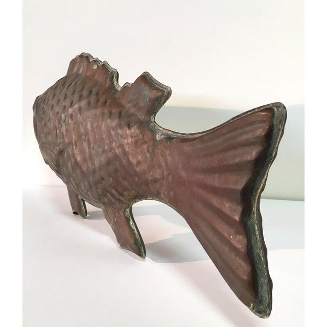 Molded Copper Codfish Weathervane - Image 7 of 9