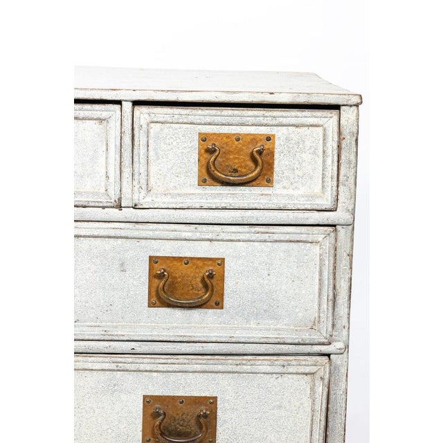 French 1890s Painted French Commode For Sale - Image 3 of 8