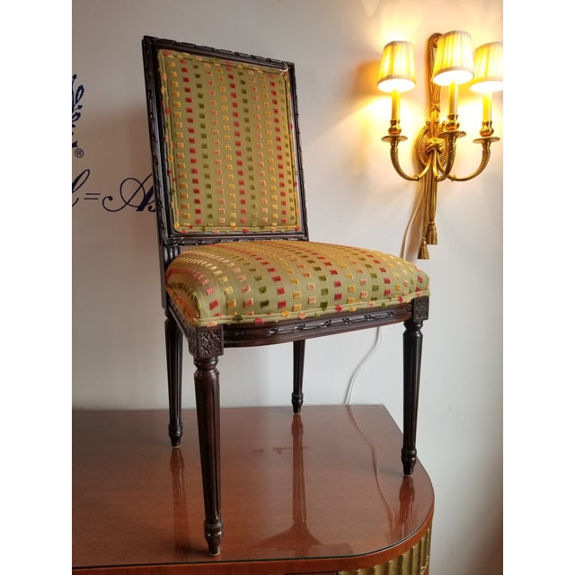 1980s Lewis Mittman Side Chair For Sale - Image 9 of 12
