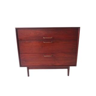 Vintage Mid Century Modern 3 Drawer Dresser by Jens Risom