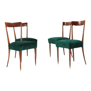 Dining Chairs by Guglielmo Ulrich, 1940s, Set of 4 For Sale