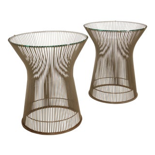 Warren Platner for Knoll Occasional Tables - a Pair For Sale