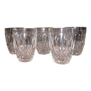 """Waterford Crystal """"Colleen"""" Flat Tumblers - Set of 5"""